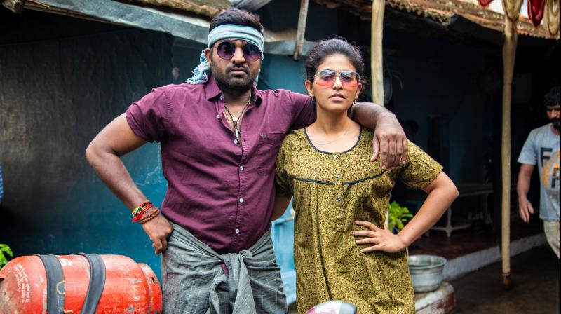 Sindhubaadh movie still.