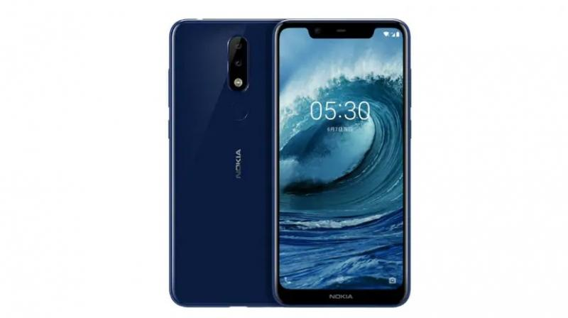 The Nokia X5 runs on Android 8.1 Oreo and the device is upgradeable to Android P.