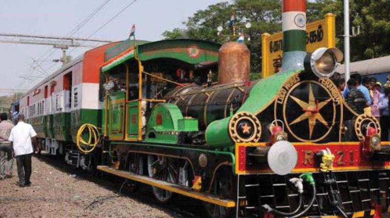 It was shipped to the country and was in operation for 55 years for the erstwhile East Indian Railway.