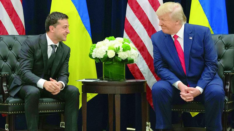 """Potus wanted nothing less than President Zelensky to go to the microphone and say investigations, Biden and Clinton,"" Kent testified. (Photo: File)"