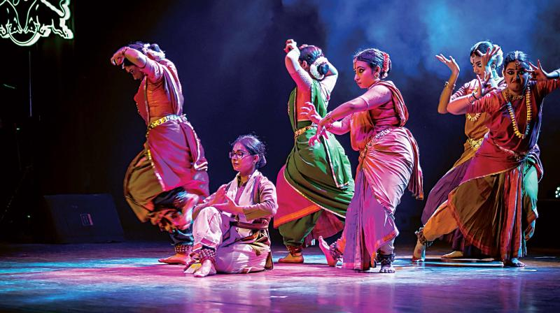 Jayalakshmi Eshwar who started to learn dance more than five decades ago admits that working for this production opened her artistic thinking with respect to Bharatanatyam dance form to a broader spectrum and gave her the unique experience of working and adapting her skill with different multimedia artists.