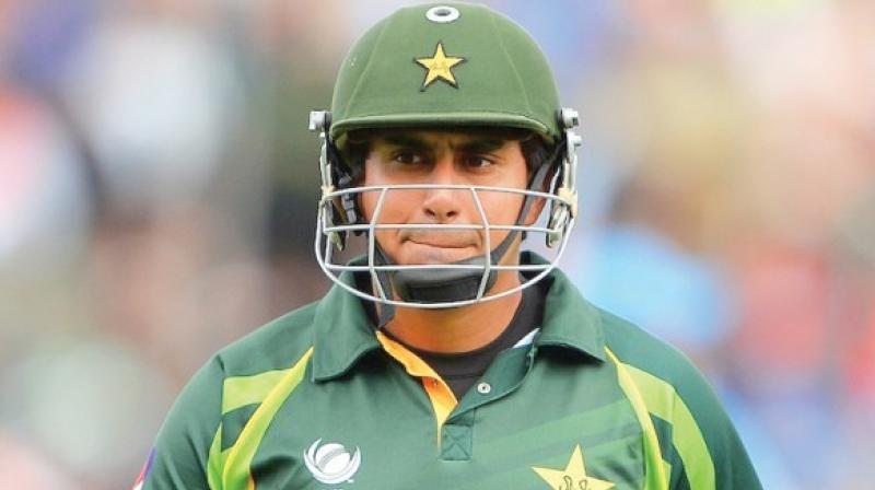 Nasir Jamshed said he tried to sell some bats to a man, but there is no real evidence that he was trying to fix the game.(Photo: AFP)