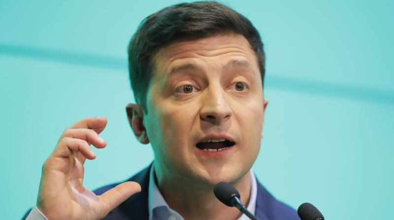 Zelensky on Wednesday called for the ten or so MPs involved in examining the bill to be tested on a lie detector. (Photo: File)