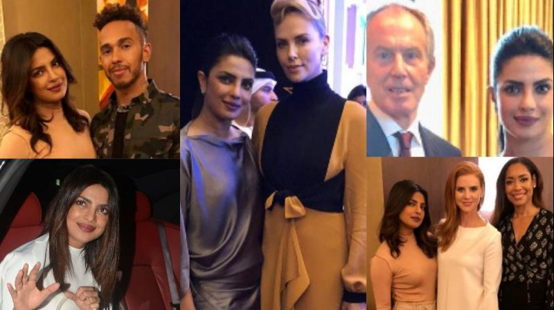 Priyanka Chopra just showed another glimpse of her chock-a-block schedule as she attended an event in Dubai and landed in India the same day. (Photos: Instagram)