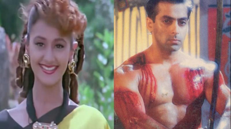 Pooja Dadwal and Salman Khan in 'Veergati.'