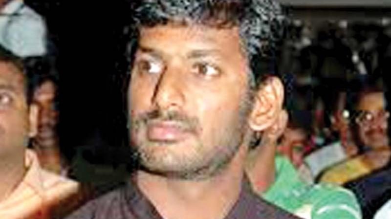Vishal thanks those responsible for Kollywood strike success