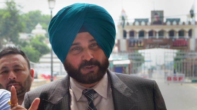 """""""I received invitation ten times. Then I sought permission from Indian government, I didn't get permission and was waiting. Two days after Pakistan government gave visa, Sushma Swaraj Ji herself called me in the night & informed that I have been given permission,"""" said Navjot Singh Sidhu. (Photo: PTI)"""