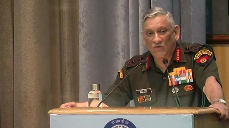 Next war will be won through indigenised weapons: Army Chief