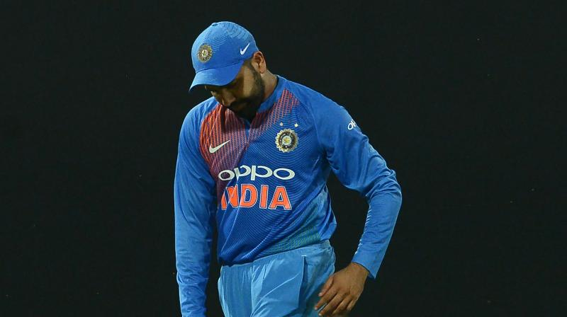 Rhoit Sharma led team India who lost the opening game will look to claim their first win of  the tournament against Bangladesh. (Photo: AFP)