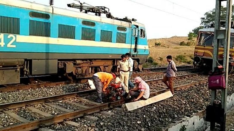 The 50-km railway line between here and Majhola in Uttar Pradesh is being converted into broad gauge. (Representational)