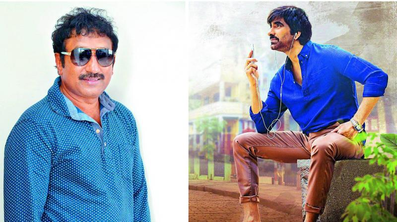 Srinu Vaitla and Ravi Teja