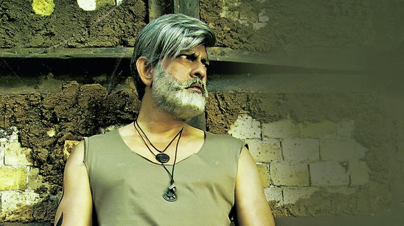 Jagapati Babu didn't use body doubles for this film and did all the stunts by himself