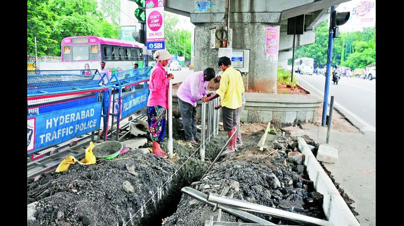Hyderabad Roads To Become Pedestrianfriendly - Dc roads