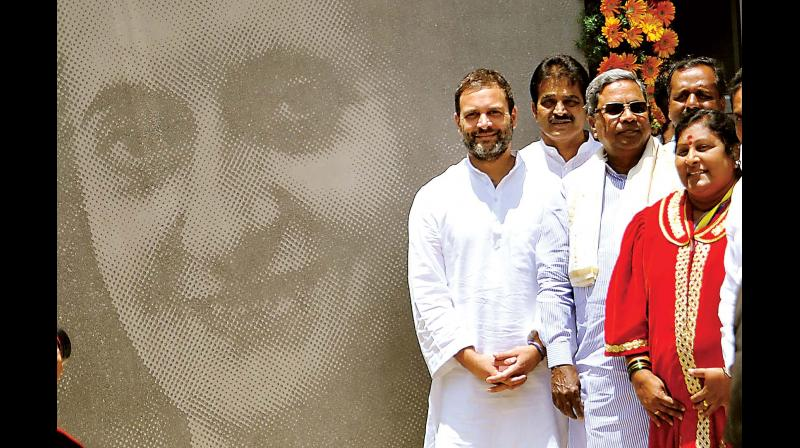 Image result for rahul gandhi siddaramaiah