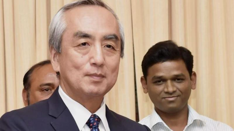 Japanese Ambassador to India Kenji Hiramatsu said, 'We recognise Doklam is a disputed area between Bhutan and China and the two countries are engaged in border talks.' (Photo: PTI)