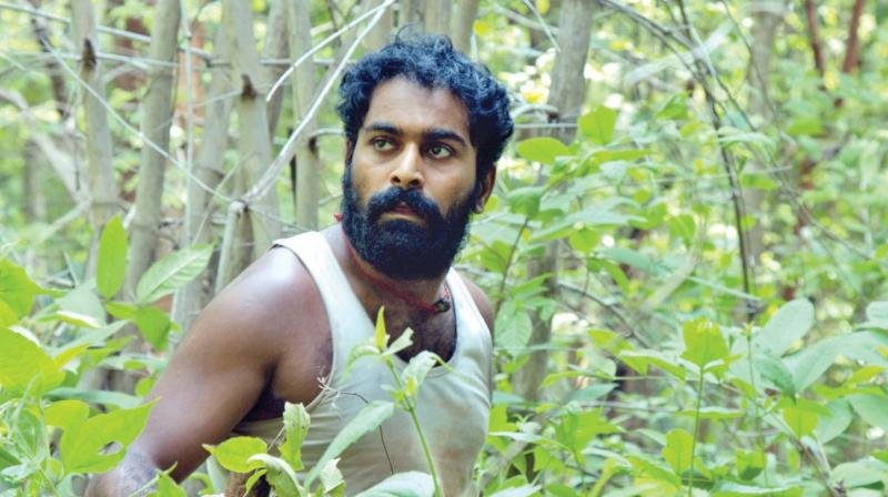 Athvik in a still from the film