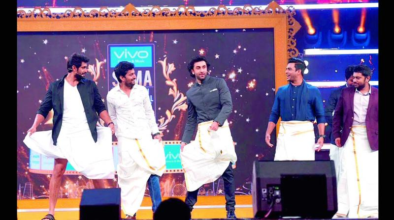 When Rana Daggubati hosted SIIMA, he got several actors, including Bollywood star Ranbir Kapoor to dance on stage