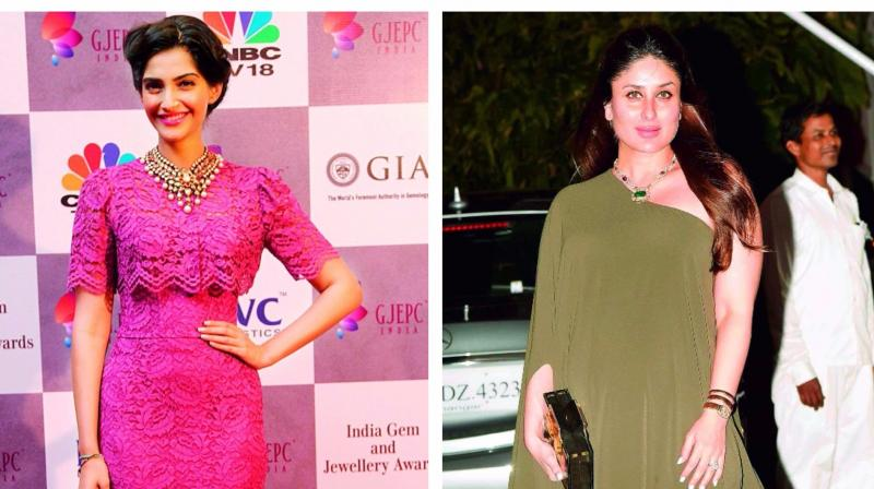 Sonam Kapoor and Kareena Kapoor