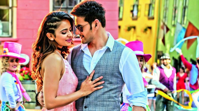 A still from SPYder, which was shot in Romania
