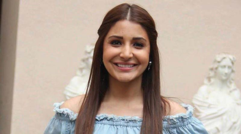 Anushka Sharma During One Of Her Movie Promotions Photo File