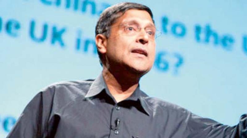Chief Economic Adviser Arvind Subramanian.