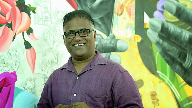 Artist Laxman Aelay