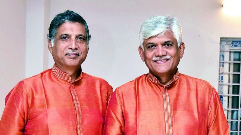 Ramakant and Umakant Gundecha
