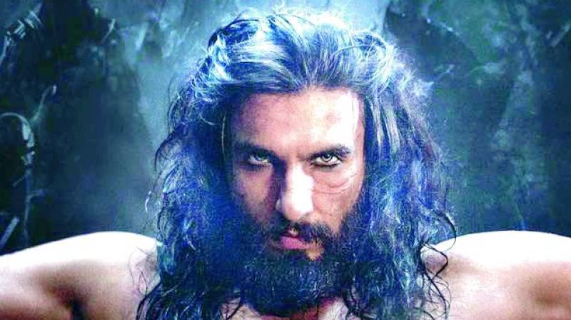 Padmavati is Ranveer Singh's third movie with Sanjay Leela Bhansali.