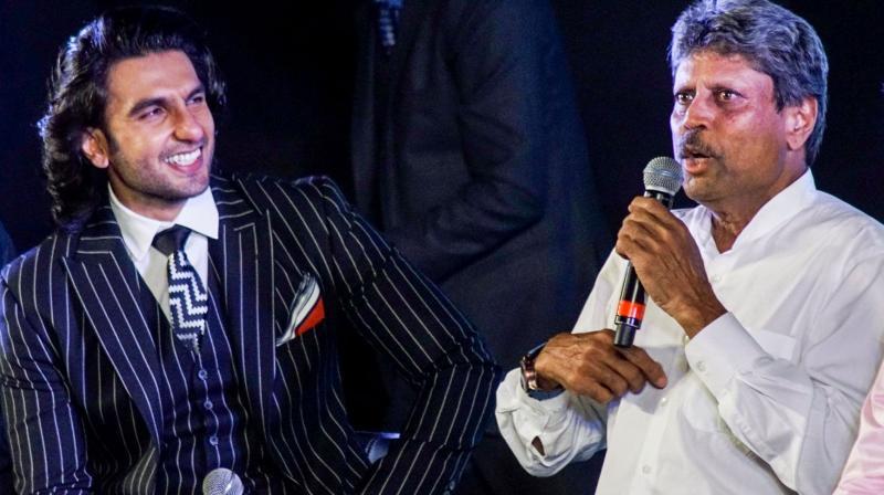 The film features Ranveer Singh as star cricketer Kapil Dev.