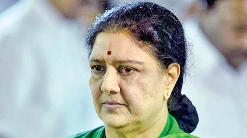 Sources said Sasikala arrived at the Gleneagles Global Health City at around 11.15 am on Sunday and spent nearly three hours at the hospital