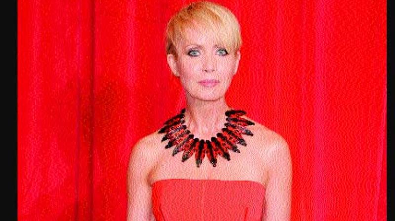 Actress Lysette Anthony