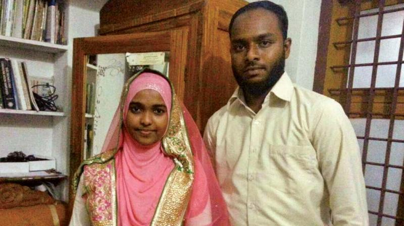 The Supreme Court was on Monday hearing Hadiya's husband Shafin Jahan's plea against the Kerala High Court order, annulling their marriage. (File photo)