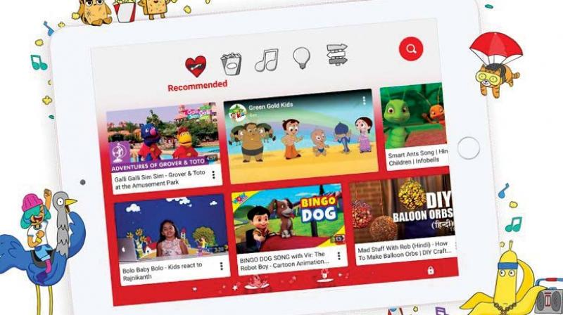 YouTube kids gets a facelift