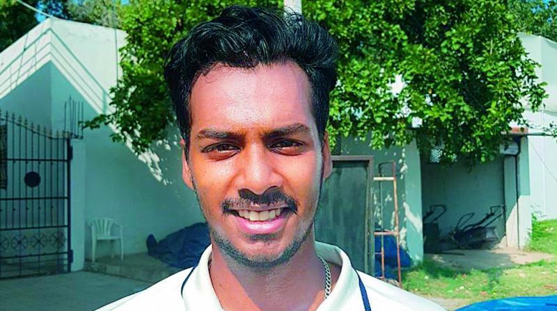 Tanay Thyagarajan scored an unbeaten 152 off 221.
