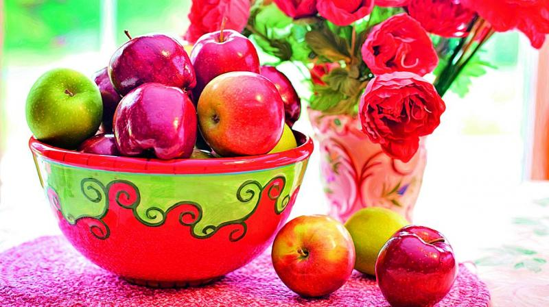 Apples are also a great ingredient used worldwide in culinary delights.