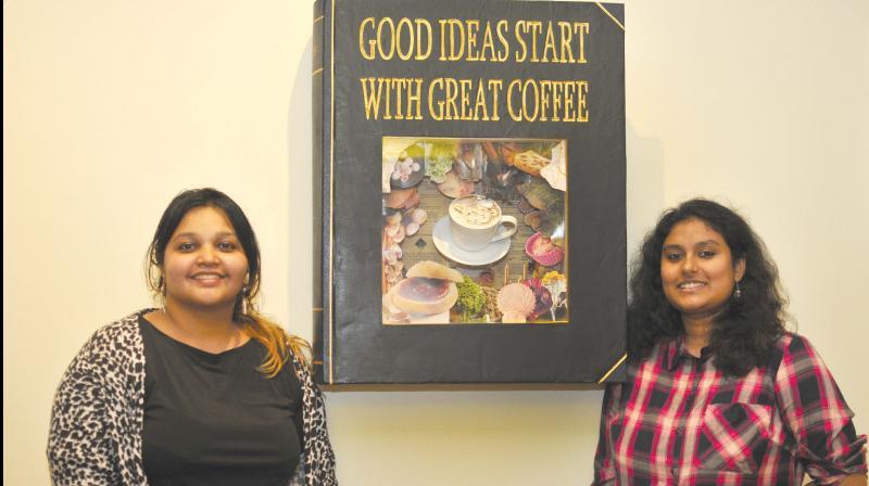 Nida Sahar and Raashi Saxena