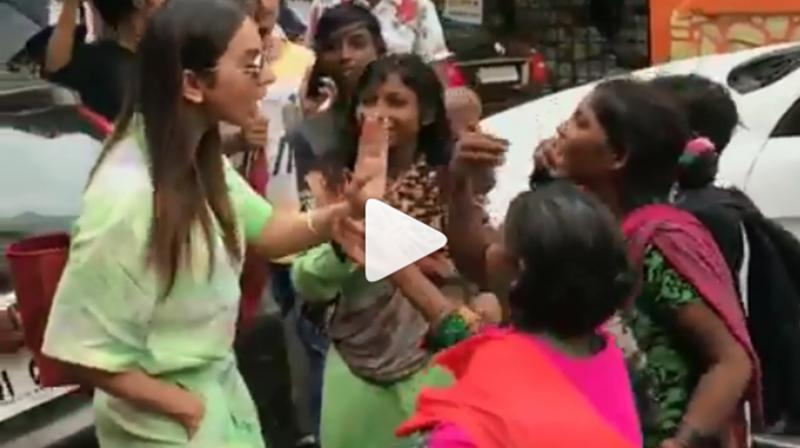 Rakul Preet Singh. (Video: Viral Bhayani/Instagram)