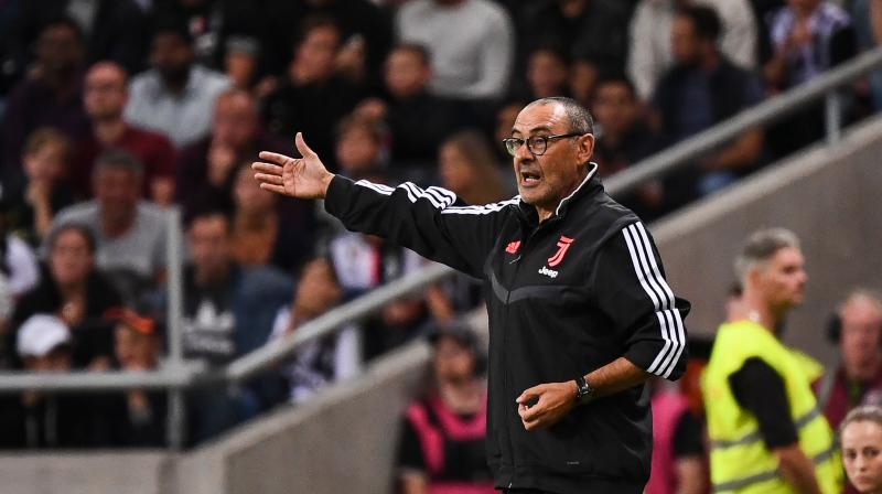 Juventus begin their Serie A campaign this weekend under new coach Maurizio Sarri as the multiple Italian champions gamble on the veteran delivering another style of Serie A title. (Photo:AFP)