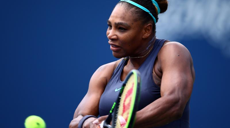 Former world number one Serena Williams will begin her 2020 season with a return to the Auckland Open in January. (Photo:AFP)
