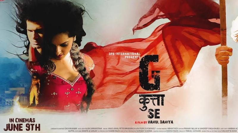 The poster of 'G Kutta Se.'