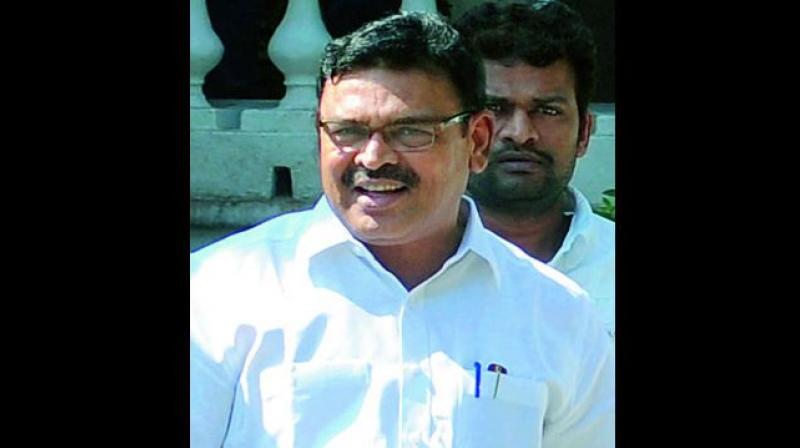 Senior YSRC leader Ambati Rambabu accused Naidu of