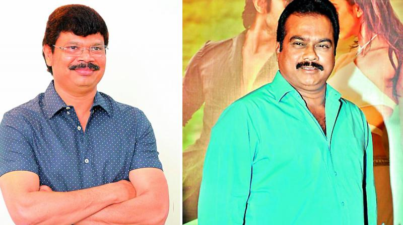 Boyapati Srinu and D.V.V. Danayya