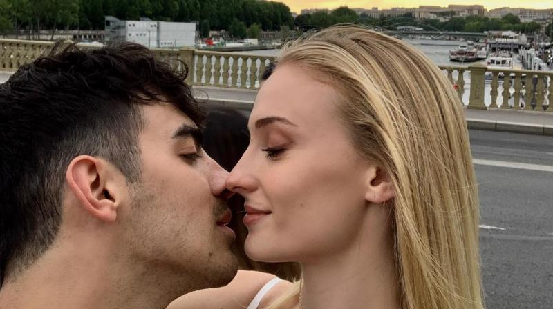 Joe Jonas and Sophie Turner. (Photo: Instagram)