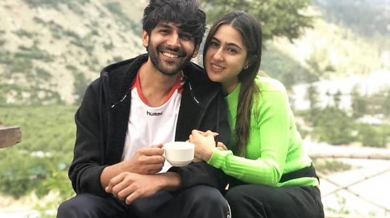 Image result for kartik and sara ali khan