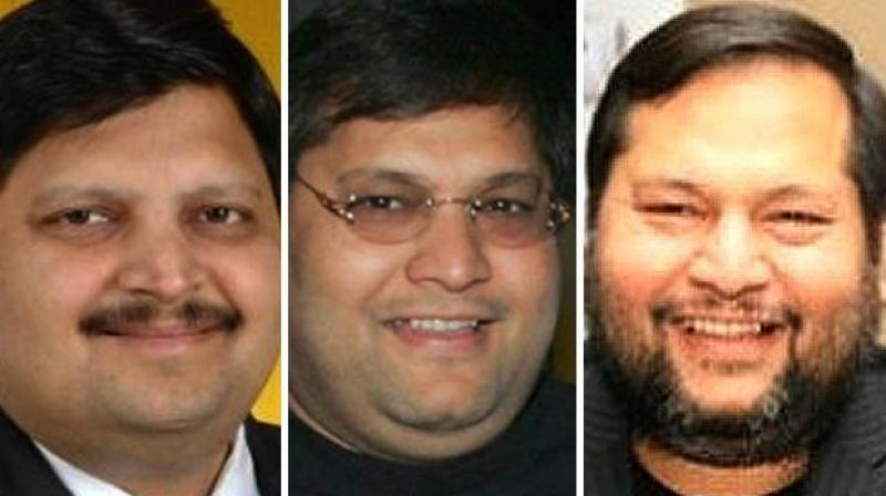 India-born South African businessmen brothers, Atul, Rajesh and Ajay Rajesh Gupta. The Gupta family, one of South Africa's wealthiest, has been accused of wielding undue influence behind the scenes. (Photo: Who'swho website)