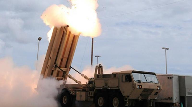 Rood said when asked about reports that India is interested in purchasing the Terminal High Altitude Area Defense system popular as THAAD from the US.   (Photo: AFP)