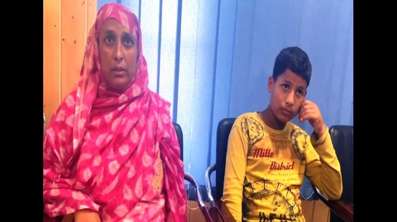 "Noor's wife told ANI, ""He was the sole bread earner of the family. Because of his killing by the stone pelters the whole family has been left in the lurch. We were having a good life with children studying but now all they have been badly hit"". (Photo: ANI)"