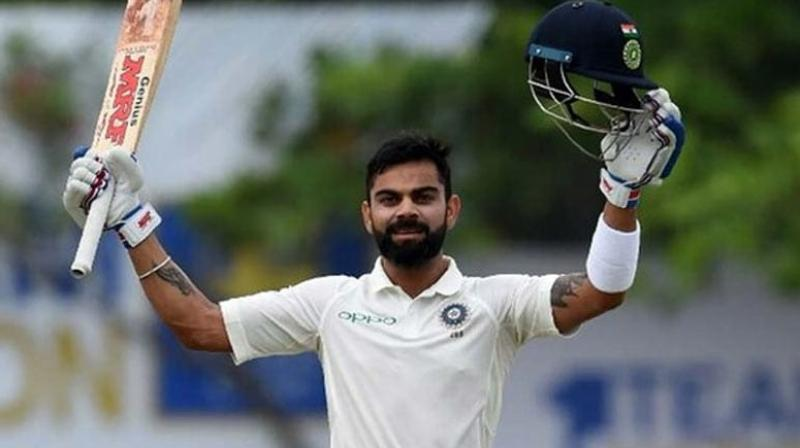 Kohli's career-best 254 not out in India's second successive win in the three-match series moved him to within one point of Smith in the International Cricket Council Test chart.
