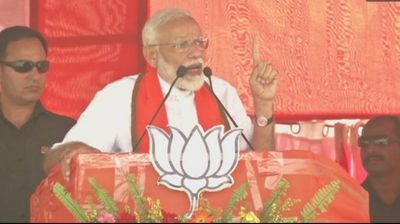 Prime Minister Narendra Modi on Saturday charged the Congress with having placed vote bank politics above national interest while it was in power at the Centre. (Photo: File)