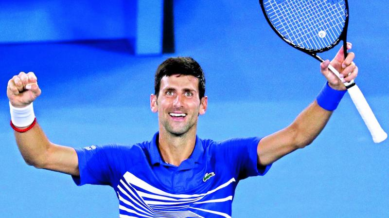 Djokovic will open in the second round against 128th-ranked American Bjorn Fratangelo. (Photo: AP)